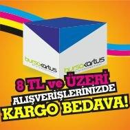 8 TL ve üzeri alımlarda KARGO BEDAVA... Kapıda ödemelerde EXTRA 6 TL alınıyor..