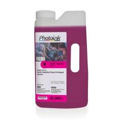 Ricoh Gen4 / Gen5 Kafalar için 1000 ml KIRMIZI MAGENTA Tekstil Mürekkep (T-RTP)