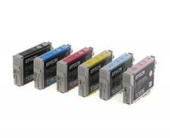 EPSON T0801-T0806 ORJİNAL KARTUŞ TAKIMI- P50/ PX650/ PX660/ PX700/ PX720/ PX800/ PX810/ PX830/ R265/ R285/ R360/ RX560/ RX585/ RX685